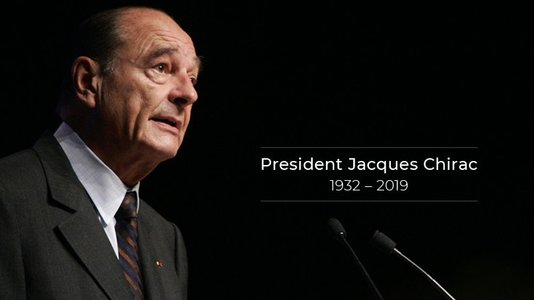 Tribute to President Jacques Chirac by the President of the Republic (...)